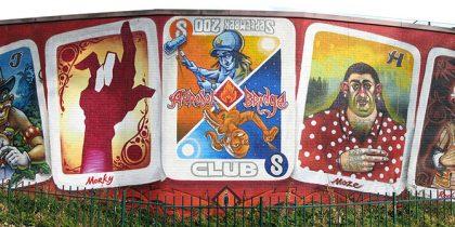 ABC Card Mural